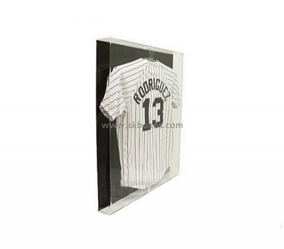 Customize acrylic t shirt display case BDC-1702