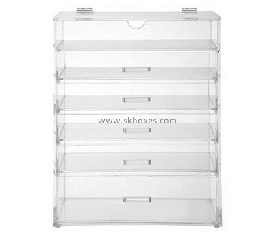 Customize lucite 6 drawer storage unit BDC-1706