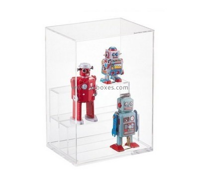 Customize perspex small toy display case BDC-1715