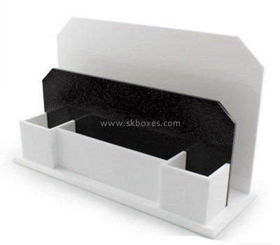 Customize plexiglass compartment holder BDC-1719