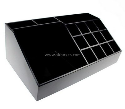 Customize lucite large compartment box BDC-1734