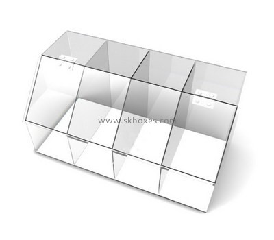 Customize perspex multi compartment box BDC-1740
