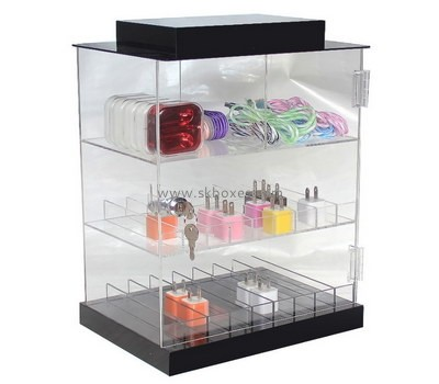 Customize perspex curio display cabinet BDC-1750