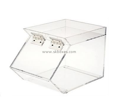 Customize perspex tabletop display case BDC-1758