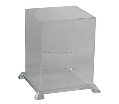 Customize clear large acrylic display case BDC-1767