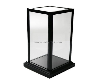 Customize lucite large clear display case BDC-1771