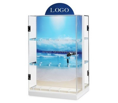 Customize lucite product display cabinet BDC-1774
