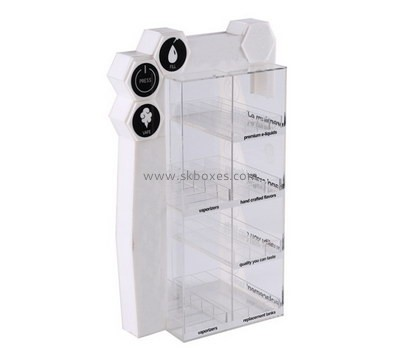 Customize acrylic short curio display cabinet BDC-1773