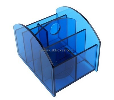 Customize plexiglass multi compartment box BDC-1778