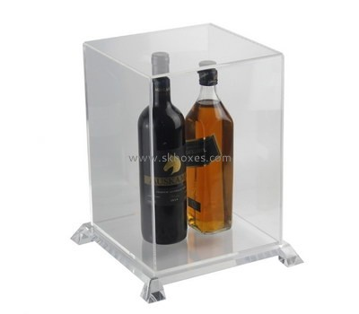 Customize clear acrylic countertop display case BDC-1782