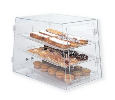 Customize acrylic bread display cabinet BDC-1808
