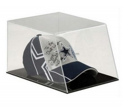 Customize acrylic clear hat display case BDC-1815