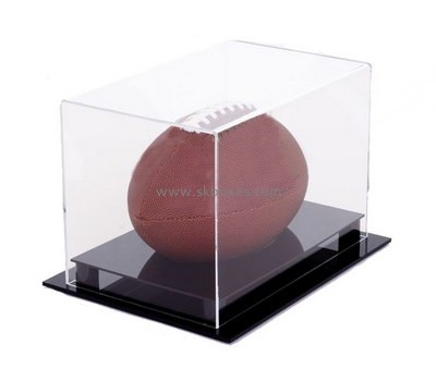 Customize acrylic single baseball display case BDC-1823