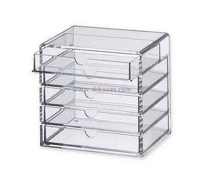 Customize lucite 5 drawer storage unit BDC-1838