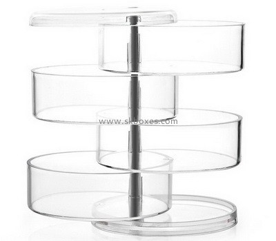 Customize clear acrylic rotating display case BDC-1841