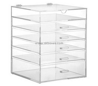 Customize perspex 6 drawer storage unit BDC-1844