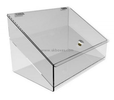 Customize clear plexiglass container BDC-1848