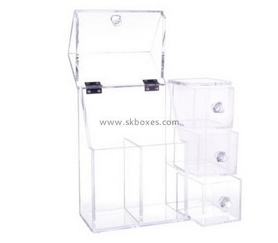 Customize clear acrylic boxes with lids BDC-1847