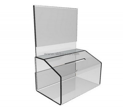 Customize acrylic suggestion boxes BBS-598