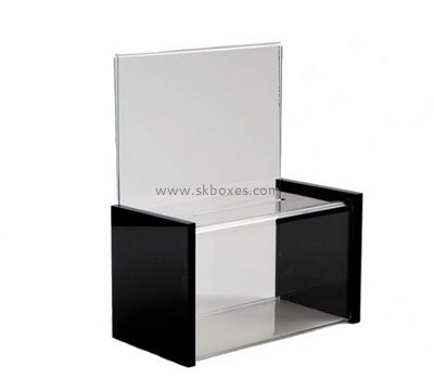 Customize acrylic suggestion boxes BBS-603