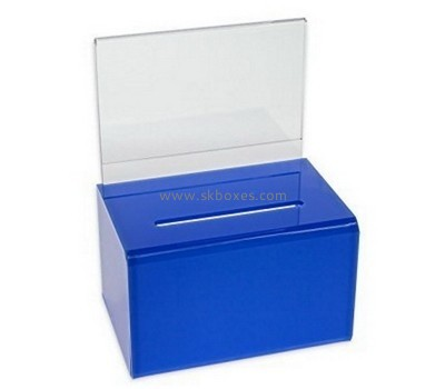 Acrylic safety suggestion box BBS-613
