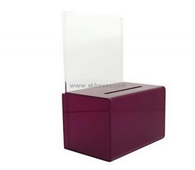Lucite suggestion box BBS-636