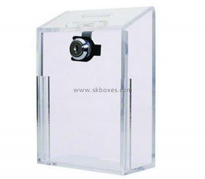 Perspex ballot box with lock BBS-658