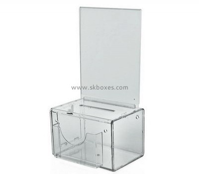 Acrylic small suggestion box BBS-671