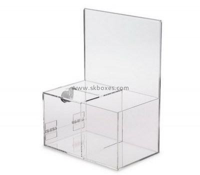 Lucite collection boxes for sale BBS-673