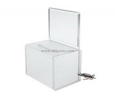 Lucite small suggestion box BBS-681