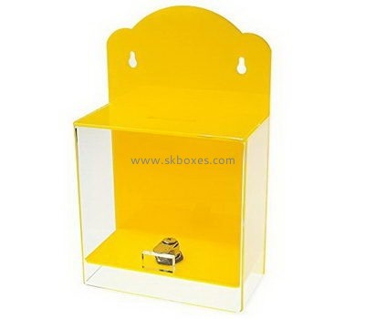 Wall mounted acrylic suggestion box BBS-730