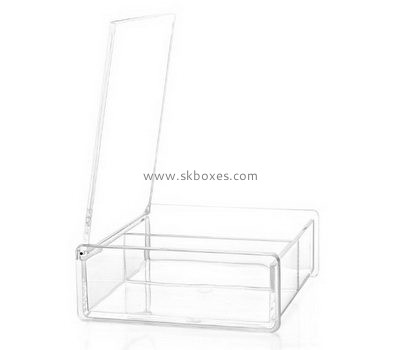 Factory wholesale acrylic plexiglass acrylic rectangle box BSC-015