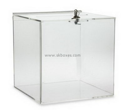 Customize large clear acrylic ballot box BBS-761