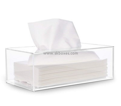 Customize clear acrylic tissue box BDC-1878