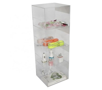 Custom retail acrylic phone accessories display cabinet BDC-1900
