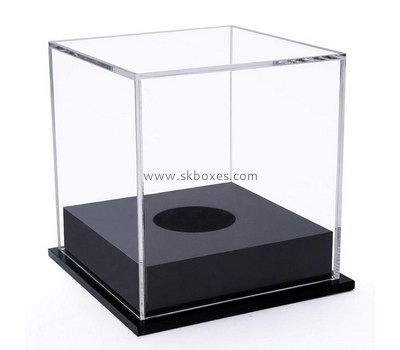 Custom acrylic ball display case BDC-1913