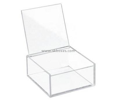 Custom clear acrylic display case BDC-1915