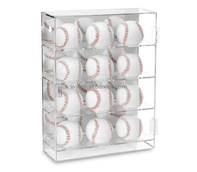 Custom clear acrylic baseball display case BDC-1929