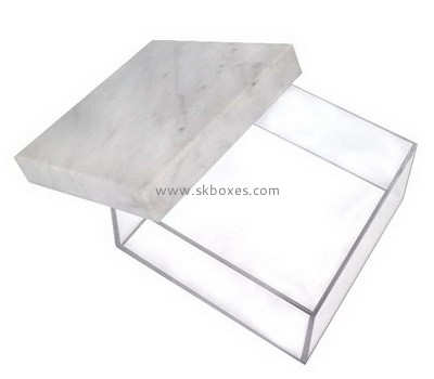 Custom acrylic flat box with lid BDC-1940