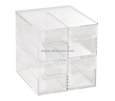 Custom acrylic 4 drawers box BDC-2025