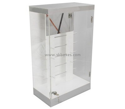 Custom acrylic lockable display cabinet BDC-2059