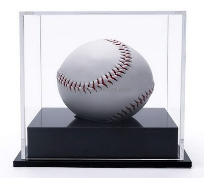 Custom acrylic baseball display case BDC-2092