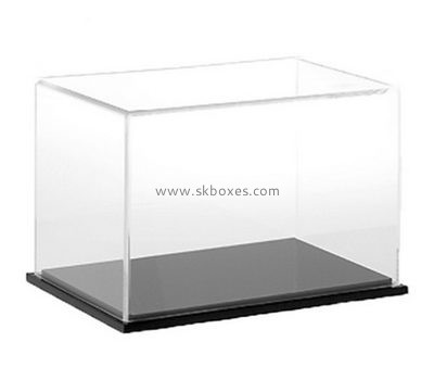 Custom 5 sided acrylic protect cover with black base BDC-2121