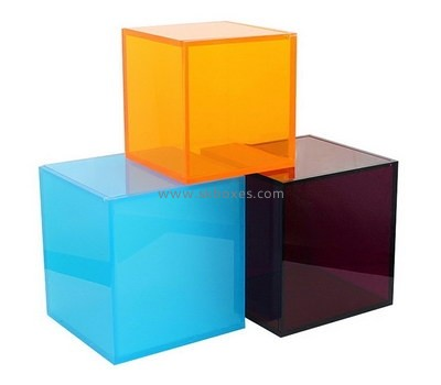 Custom square color acrylic boxes BDC-2131