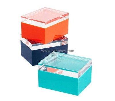 Custom color acrylic boxes BDC-2138