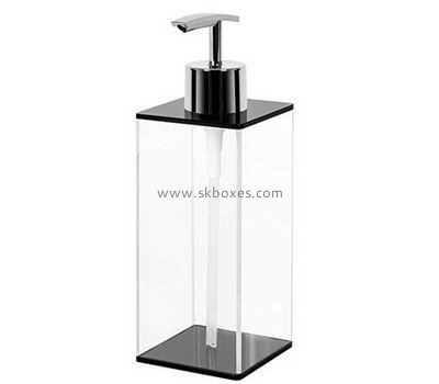 Custom acrylic handle washing dispenser BDC-2137