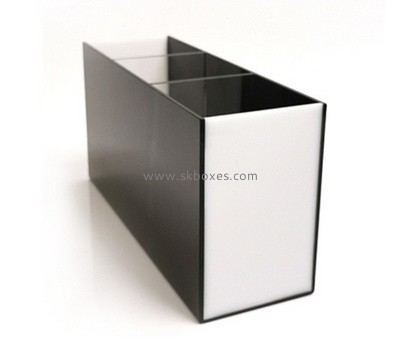 Custom table top 3 grids acrylic display case BDC-2140