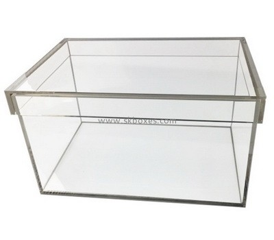 Custom clear acrylic display case BDC-2165