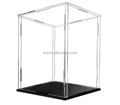 Custom collapsible acrylic display case BDC-2168
