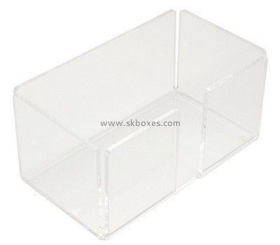 Custom clear acrylic tissue paper holder BDC-2216